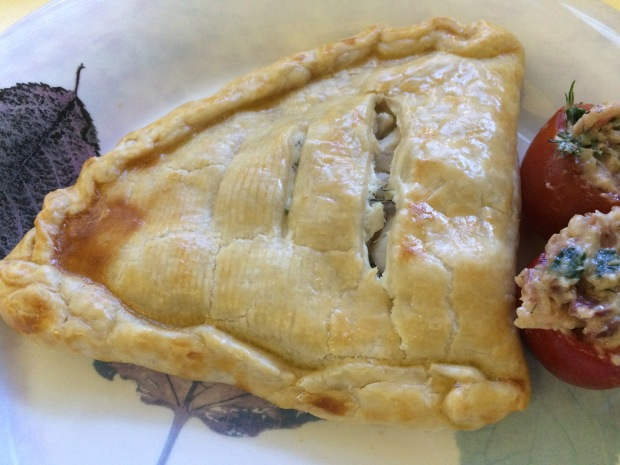 Herbed Chicken Cheese Turnovers