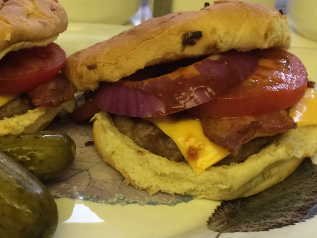 Western Turkey Bacon Burgers