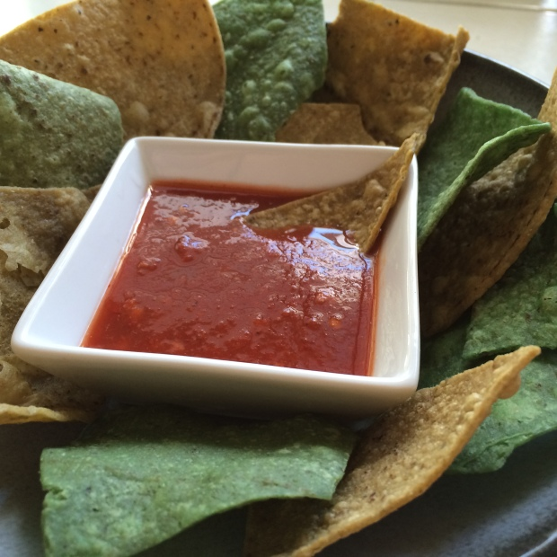 Salsa Roja de Chili de Arbol