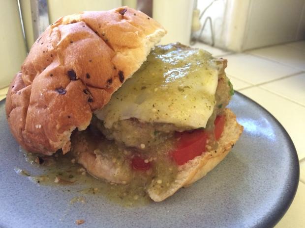 Verde Turkey Burgers