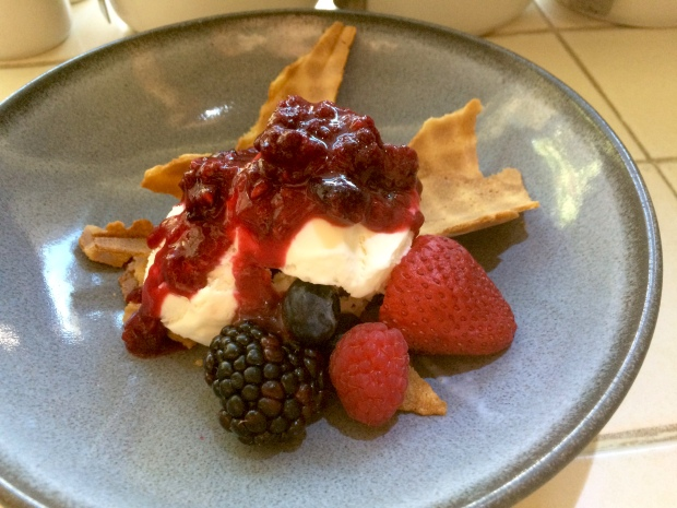 Mixed Berry Sundae