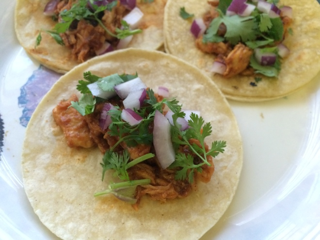 BBQ Chicken Street Tacos